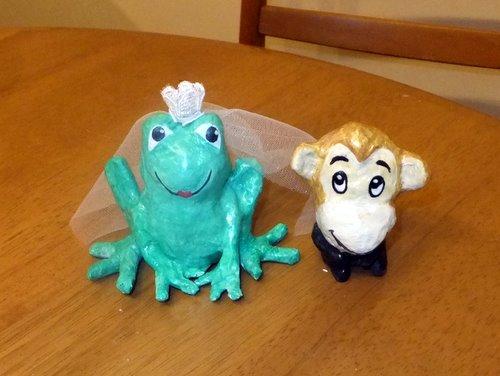 sapa e macaco