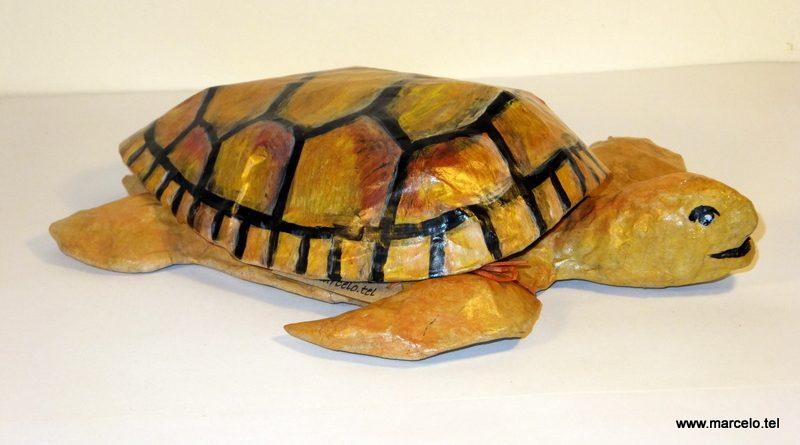 tartaruga de papel