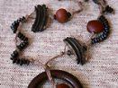 colar de sementes preta brasil