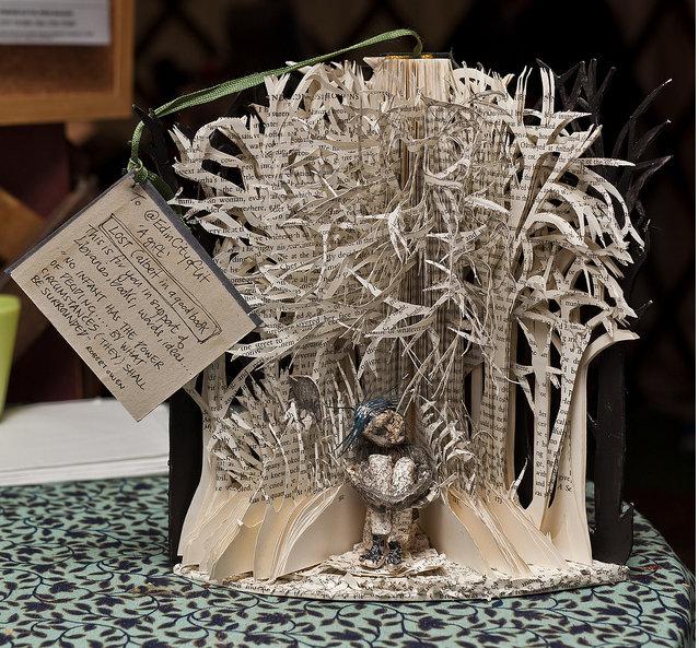 esculturas literarias misteriosas