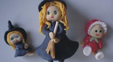 bruxinha de biscuit SR Artesanato