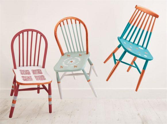 Cadeiras reformadas