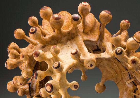 arte com madeira reciclada