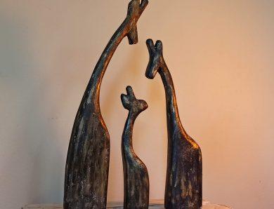 Home Decor: Girafas Estilizadas de Papelão